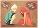 Finn and Flame Princess by virinn
