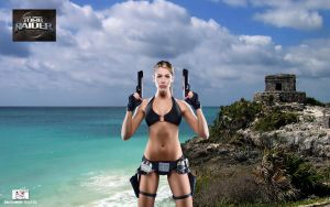 Lara Croft - Wet 'n Wild by TheSnowman10