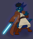 Goo Dragon Jedi~ by C-MaxisGR