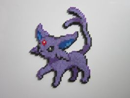 Espeon by 8-BitBeadsStudio