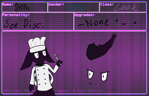 SG Application [Chef Stills} by nintendonerd1983