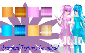 MMD Seasonal Textures Pack by MMD-Nay-PMD