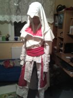 Assassin cosplay WIP by Aniuuch