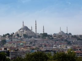 Istanbul Mosques by VapourNZ