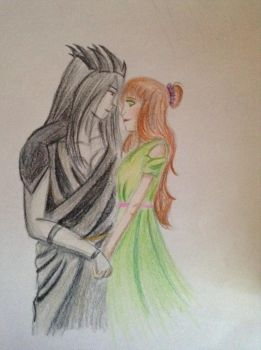 Hades and Persephone  by AlexDeathRose