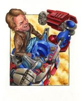 Michael Bay by R-Valle