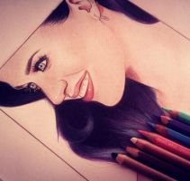 Katy Perry by MariaJdrawings