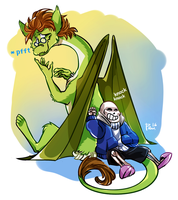 silly sans my back is not a door by bPAVLICA