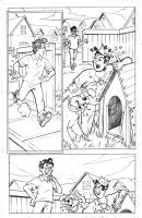 Jughead Doghouse Dilema pg 1 by adampedrone8