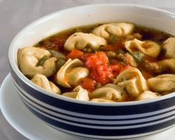 Sausage Tortellini Soup by pubculture