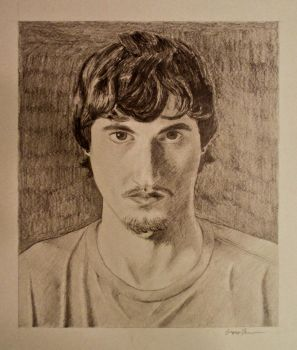 Self Portrait In Pencil by gregfox