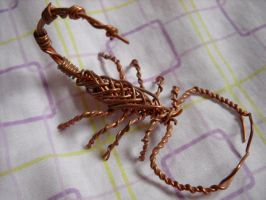 Copper Wire Scorpion by Shamaru