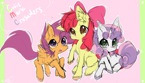Cutie Mark Crusaders by PainbowFox