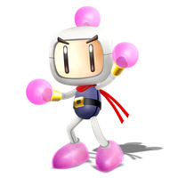 Smashified Style Bomberman! Render of 3/4 by Nibroc-Rock