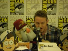 Alex Hirsch and Gruncle Stan by Cassini90125