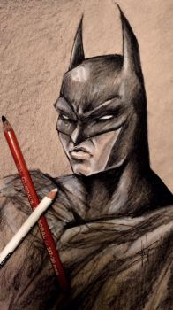 Batman Sketch by LarcDEAR