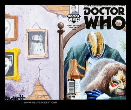 Doctor Who sketch cover by billytackett