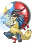 Mega Fem Lucario gijinka by chocosunday