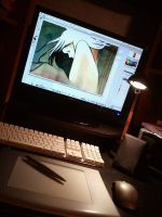 Workstation by blackenedhonestyart