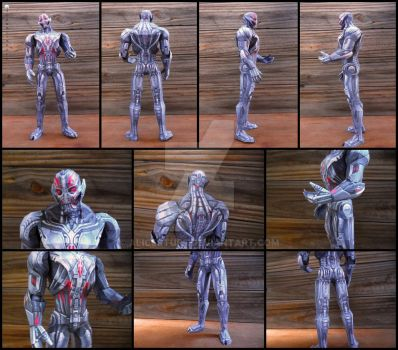 Marvel - Ultron (Avengers AoU) Papercraft by alicestuff