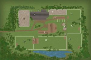 Whiskey Briar Farms Farm Map by Rising-High-Ranch