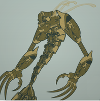 Mermaid Robot by abominal401