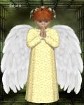 Angel Baby by oldhippieart