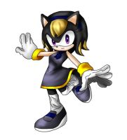 Sonic FC: Serina: redesigned by Hero-of-Awesome