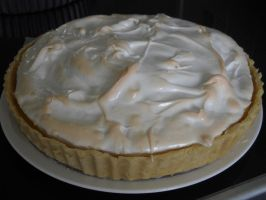 Lemon Meringue Pie by Bisected8