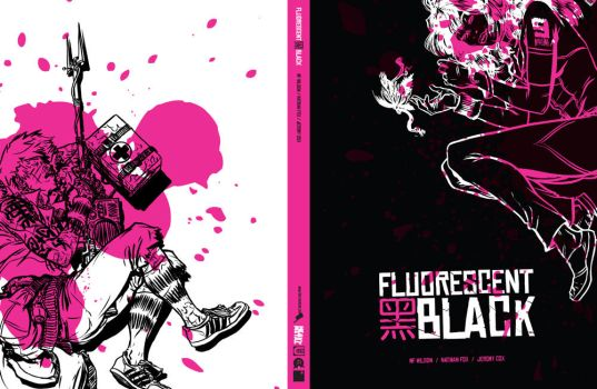 FLUORESCENT BLACK GN Cover by nathanFOX