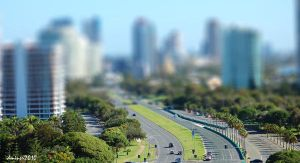 Gold Coast Tilt Shift by DanielleMiner
