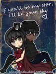 If you'll be my star, I'll be your sky by EikoPanda