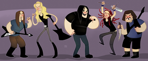Dethklok by SIIINS