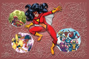 Marvel Universe: Spider-Woman by bennyfuentes