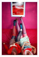Shoes and Stockings V by zillahderigeaud