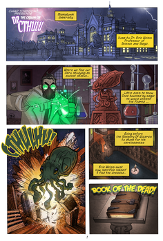 The Origin of Dr. Cthulu pg 01 by ChadTHX1138