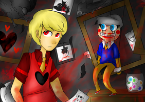 CE: Stuck at 666: Davey come and Play. by sariasong64