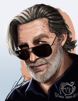 Jeff Bridges by vangelisgenesis