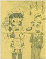 Valentine Whitnee Maid And Dudley Puppy! by teamlpsandacnl