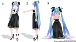 MMD Pose  ~by Milionna [DL] [DOWNLOAD] by Milionna