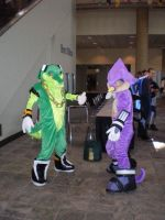 The Vector Costume at Otakon by Dragonmistral