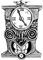 Ink Tiki 2 Cyclock by rawjawbone