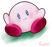 Kirby by KruelFoxx