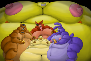 Commission - Five Night's at Chica's (Part 2) by Wolfgerlion