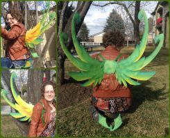 Quetzal Wings by ThePinkPoudo