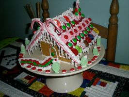 gingerbread house by audreyjill