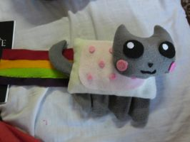 nyan cat peluche by ingart15