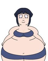 fat hinata by mushroommit