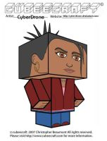 Cubeecraft - Martha Jones by CyberDrone