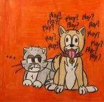 Cats and Dogs by angry-toon-link